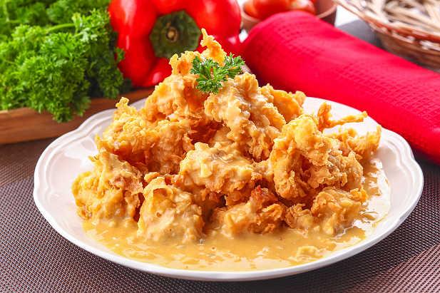 Ayam Crispy Telur Asin