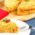 Cake Kentang Keju Kornet