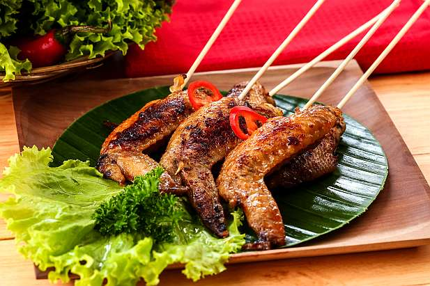 Chicken Wings Bumbu Bakar Pedas