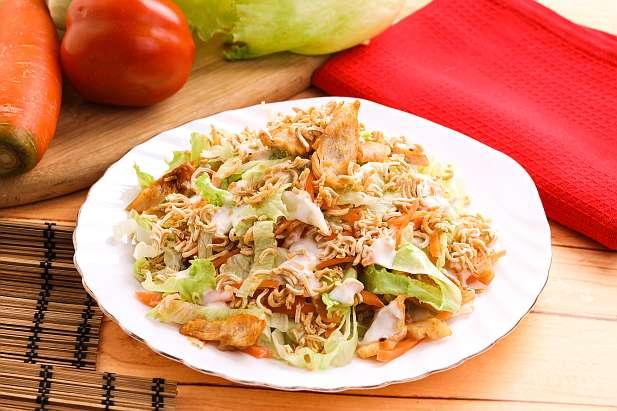 Crispy Mie Ayam Salad
