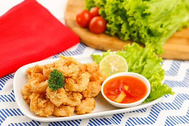 Cumi Goreng Saus Thai