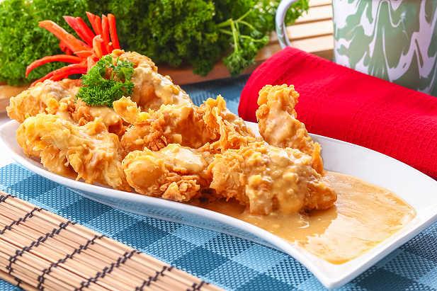 Dori Crispy Telur Asin Resep Dari Dapur Kobe