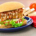 Hotdog Tempe Kornet