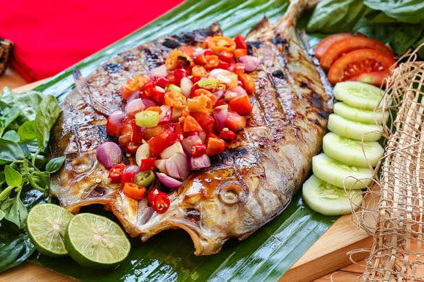 Ikan Bakar Dabu Dabu Resep Dari Dapur Kobe