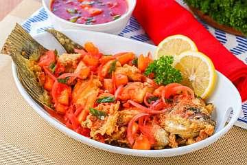Ikan Krispi Asam Manis