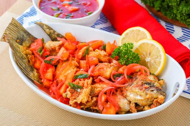 Ikan Krispi Asam Manis Resep Dari Dapur Kobe