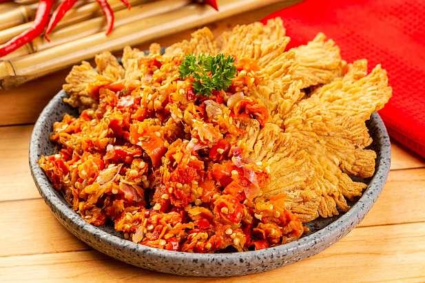 Jamur Crispy Geprek Resep Dari Dapur Kobe