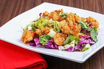 Resep Karaage Salad