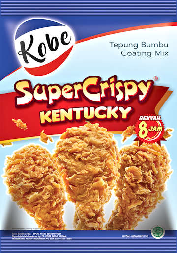 KOBE Tepung Kentucky Super Crispy