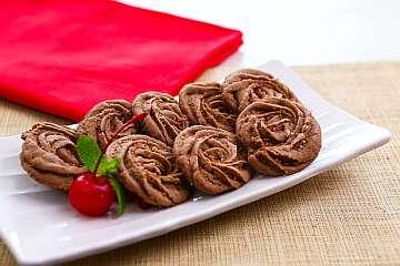 Kue Sagu Coklat