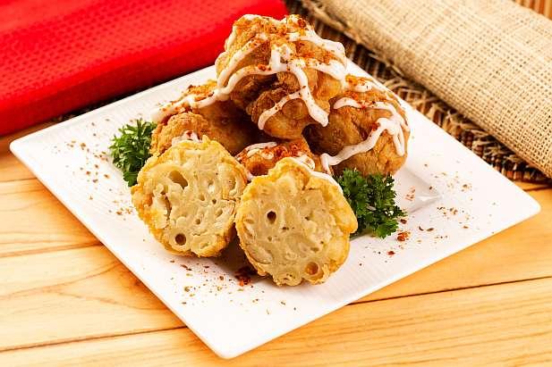 Macaroni Keju Goreng