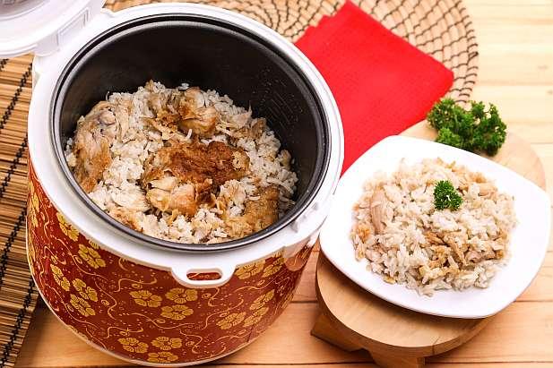 Nasi Ayam Kentucky Rice Cooker