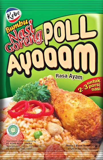 Kobe Bumbu Nasi Goreng Poll Ayaaam