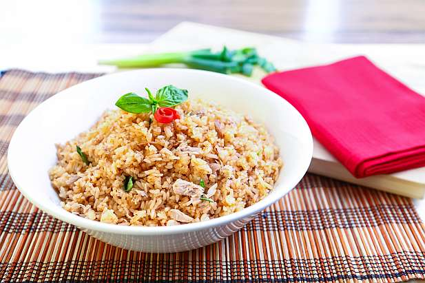 Nasi Goreng Tuna Spicy