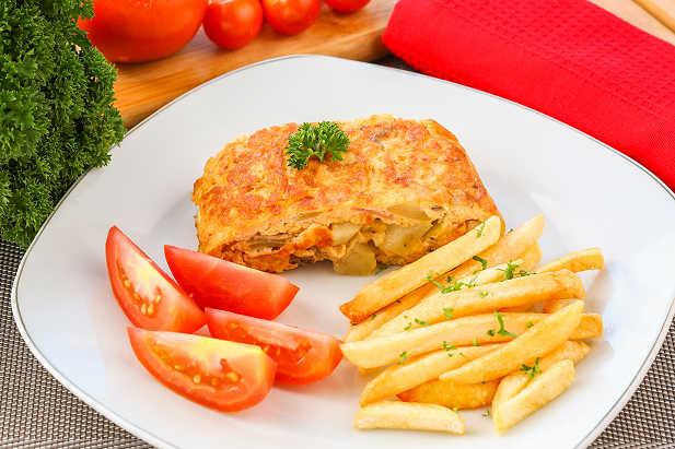 Omelet Jamur Kentang
