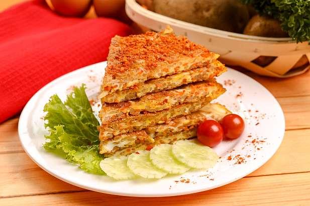 Omelet Kentang Wortel