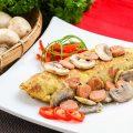 Omelet Sosis Jamur