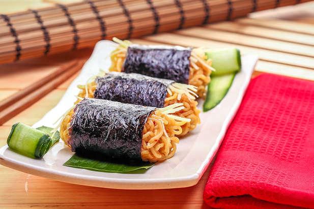 Onigiri Mie Resep Dari Dapur Kobe