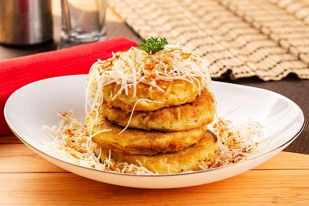 Pancake Kentang Keju