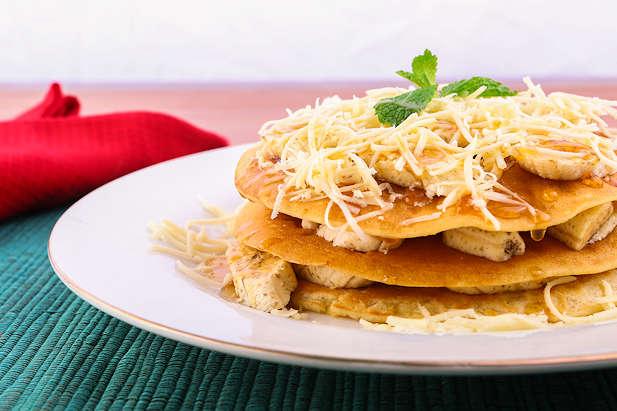 Pancake Pisang Keju