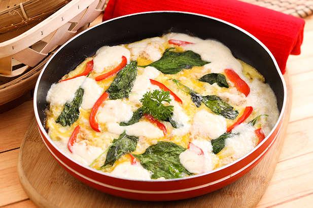 Pizza Telur Dadar