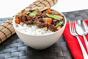 Rice Bowl Daging Jamur