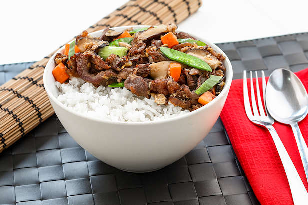 Rice Bowl Daging Jamur