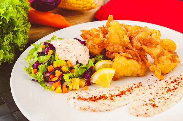 Salad Ayam Sayuran
