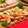 Sate Seafood Goreng