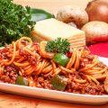 Spaghetti Sapi Pedas