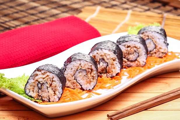 Spicy Tuna Sushi Roll Resep Dari Dapur Kobe
