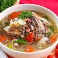 Sup Iga Kacang Merah