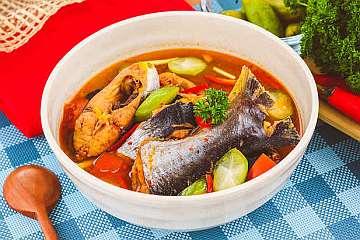 Sup Ikan Asam Pedas