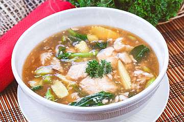 Sup Ikan Sayuran
