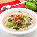 Sup labu kacang hijau
