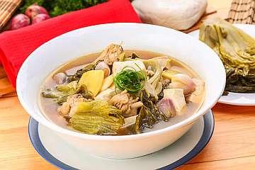 Sup Sawi Asin