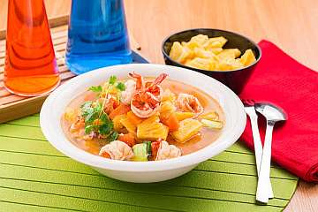 Sup Udang Nanas