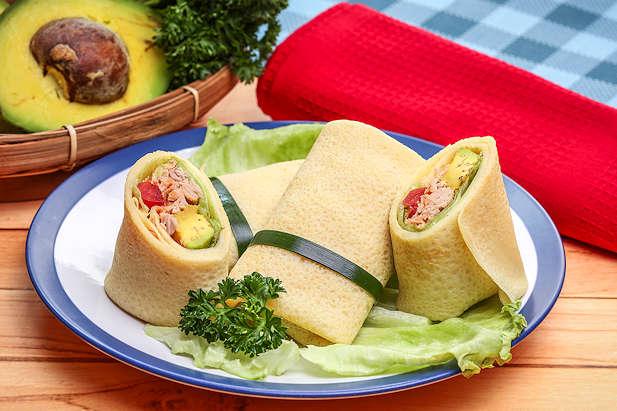 Tuna Salad Bungkus Pedas