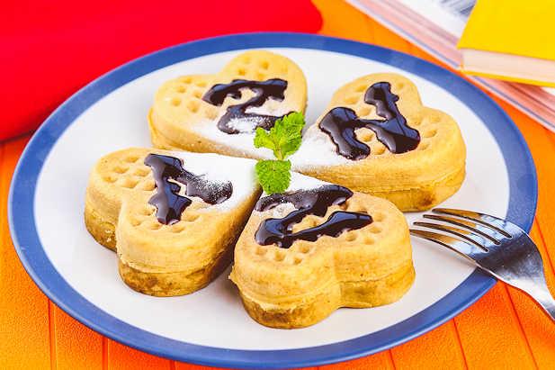 Waffle Resep Dari Dapur Kobe