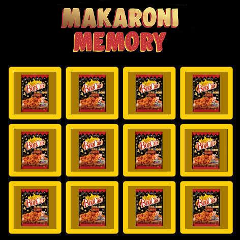 BonCabe Game Makaroni Memory