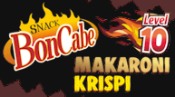 Snack Boncabe Makaroni Krispi, level 10
