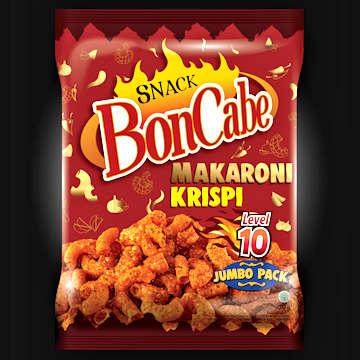 Snack BonCabe Makaroni Krispi level 10