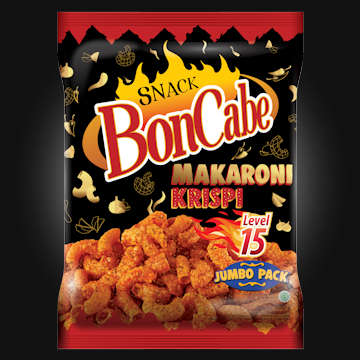 Snack BonCabe Makaroni Krispi level 15