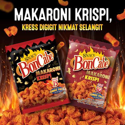 Snack Makaroni Krispi dari BonCabe