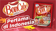 BonCabe sambal tabur, pertama di Indonesia