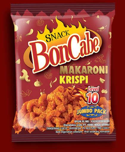 Sachet Snack BonCabe Makaroni Krispi Level 10