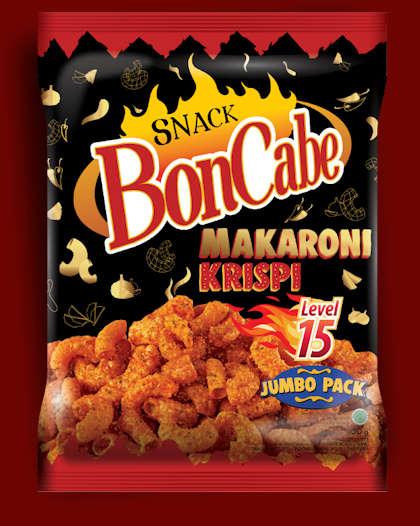 Sachet Snack BonCabe Makaroni Krispi Level 15